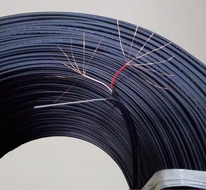 Cáp điện thoại dây mềm lõi đồng 500 mét