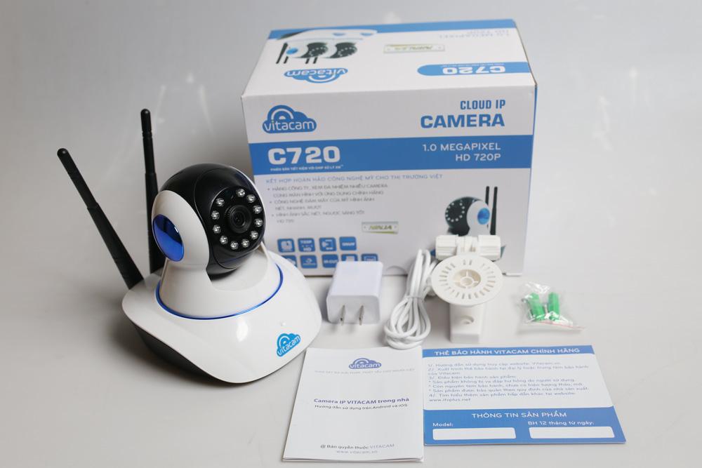 VITACAM C720 - HD 720P - Camera Wifi Đa Chức Năng